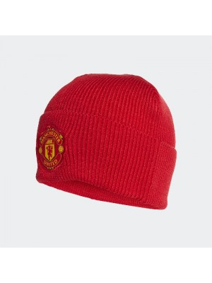 Man Utd woolie hat - red