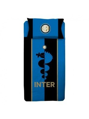 Inter duvet set - blue, black