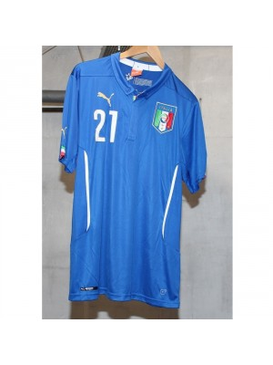 Italy 2014 home kit front number 21