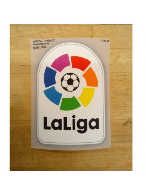 La Liga badge player's size