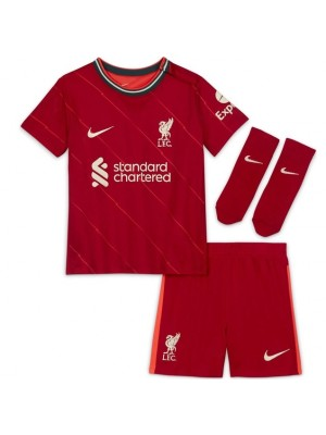 Liverpool home kit 2021/22 - little boys
