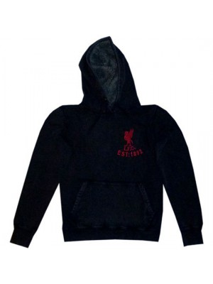 Liverpool hoody top women's - grey
