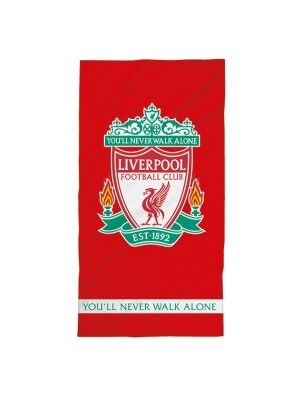Liverpool FC towel - logo