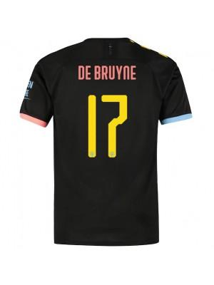 De Bruyne 17 Man City away kit