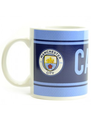 Manchester City Captain Boxed Mug