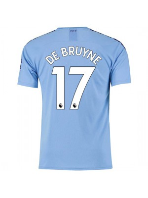 Manchester City Home Jersey 19/20 - De Bruyne 17