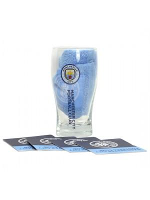 Man City Mini Bar Set New Crest