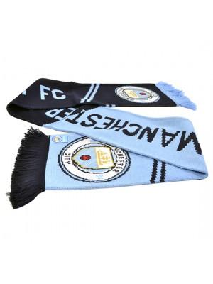 Manchester City Vertigo Scarf New Crest