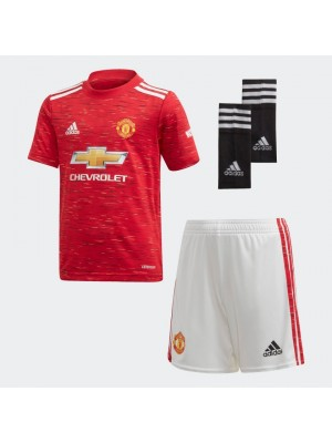 Manchester United 20/21 home kit little boys
