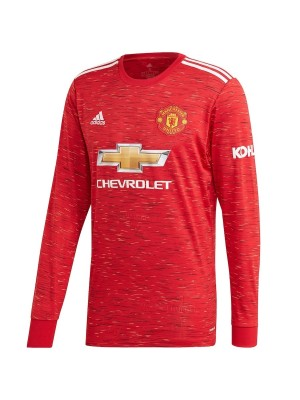Man United 20/21 L/S home jersey