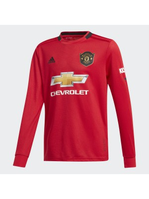 Man Utd home jersey L/S - boys