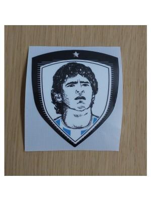 Maradona badge - Argentina - 1 star