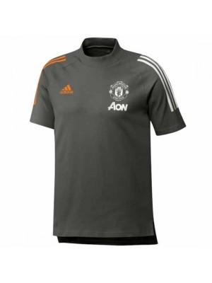 Manchester United Green Training T-Shirt 2020/21