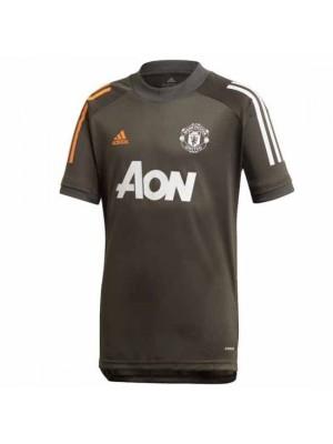 Manchester United Kids Green Training Jersey 2020/21