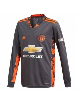 Manchester United Kids Home Goalkeeper Shirt 2020/21