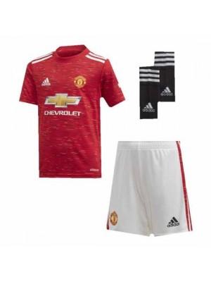 Manchester United Kids Home Kit 2020/21