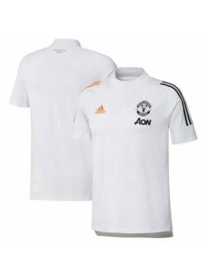 Manchester United White Training T-Shirt 2020/21