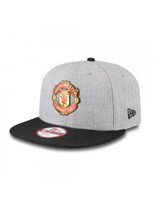 Manchester United New Era 9Forty Devil Cap - Black Grey