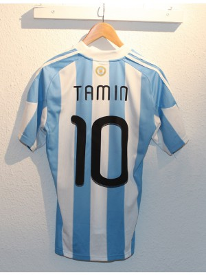 Argentina home jersey World Cup 2010