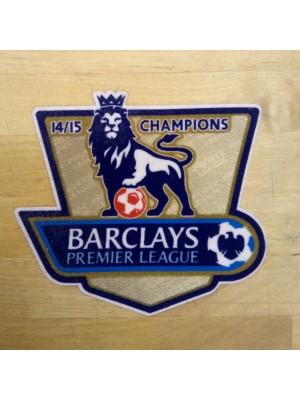 Premier League Champs sleeve badge 2014/15