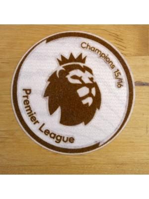 Champs 2015/16 badge - Premier League gold