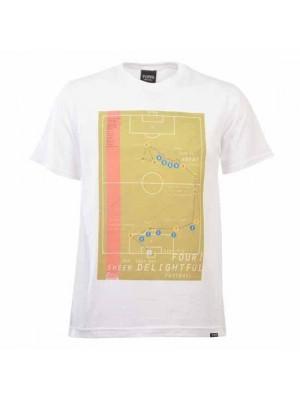 Pennarello Carlos Alberto 1970 Classic Goal - White T Shirt