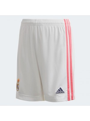 Real Madrid home shorts - boys