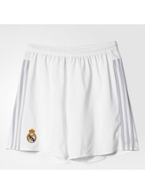 Real Madrid home shorts 15/16 - youth