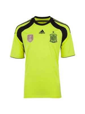 Spain goalie away jersey 2014-16