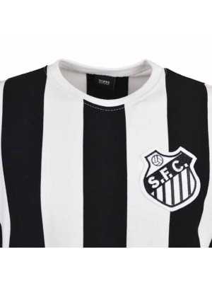 Santos 12Th Man T-Shirt - Black/White Stripe