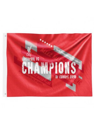 Liverpool Champions Europe Flag Trade