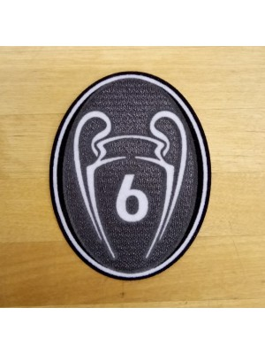 UEFA Badge of Honors BoH 6 Cups - adults