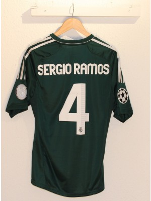 Real Madrid UCL away jersey Sergio Ramos 4