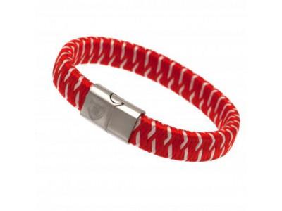 Arsenal FC Woven Bracelet