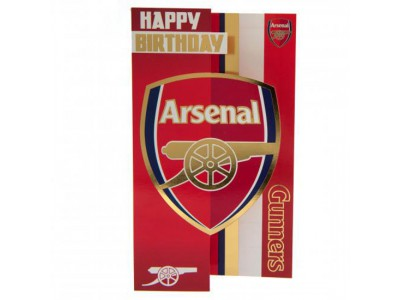 Arsenal Fc Birthday Card