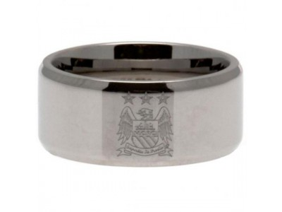 Manchester City FC Band Ring Small EC