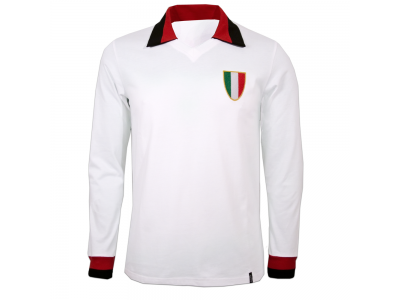 AC Milan Away 1960's Long Sleeve Retro Shirt