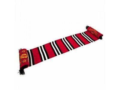 Manchester United FC Stripe Scarf