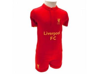 Liverpool FC Shirt & Short Set 6/9 Months GD