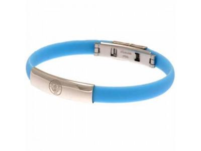 Manchester City FC Colour Silicone Bracelet