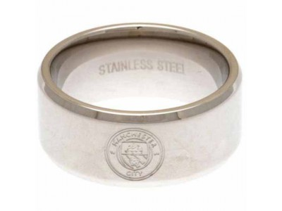 Manchester City FC Band Ring Small