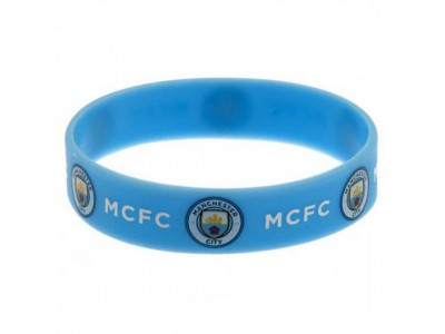 Manchester City FC Silicone Wristband