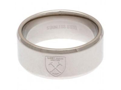 West Ham United FC Band Ring Medium