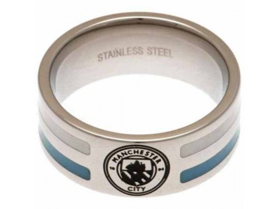 Manchester City FC Colour Stripe Ring Large