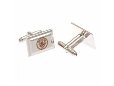 Manchester City FC Silver Plated Cufflinks