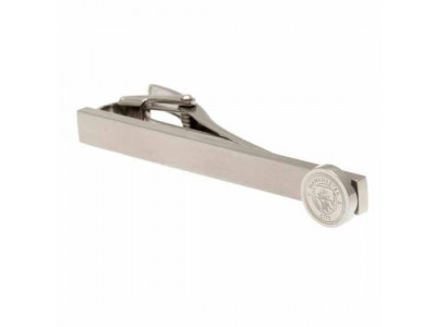 Manchester City FC Stainless Steel Tie Slide