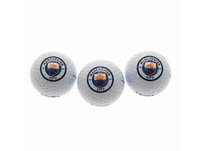 Manchester City FC Golf Balls