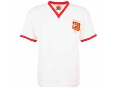 Manchester Reds 1957 FA Cup Final Retro Football Shirt