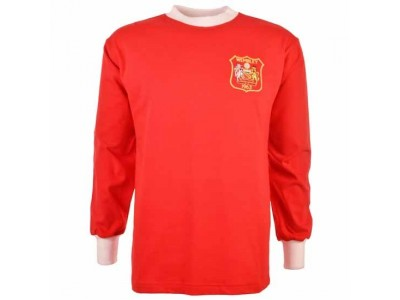 Manchester United 1963 FA Cup Final Retro Football Shirt