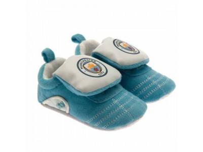 Manchester City FC Boot Crib 9/12
